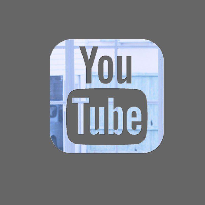 Espelho Decorativo Youtube