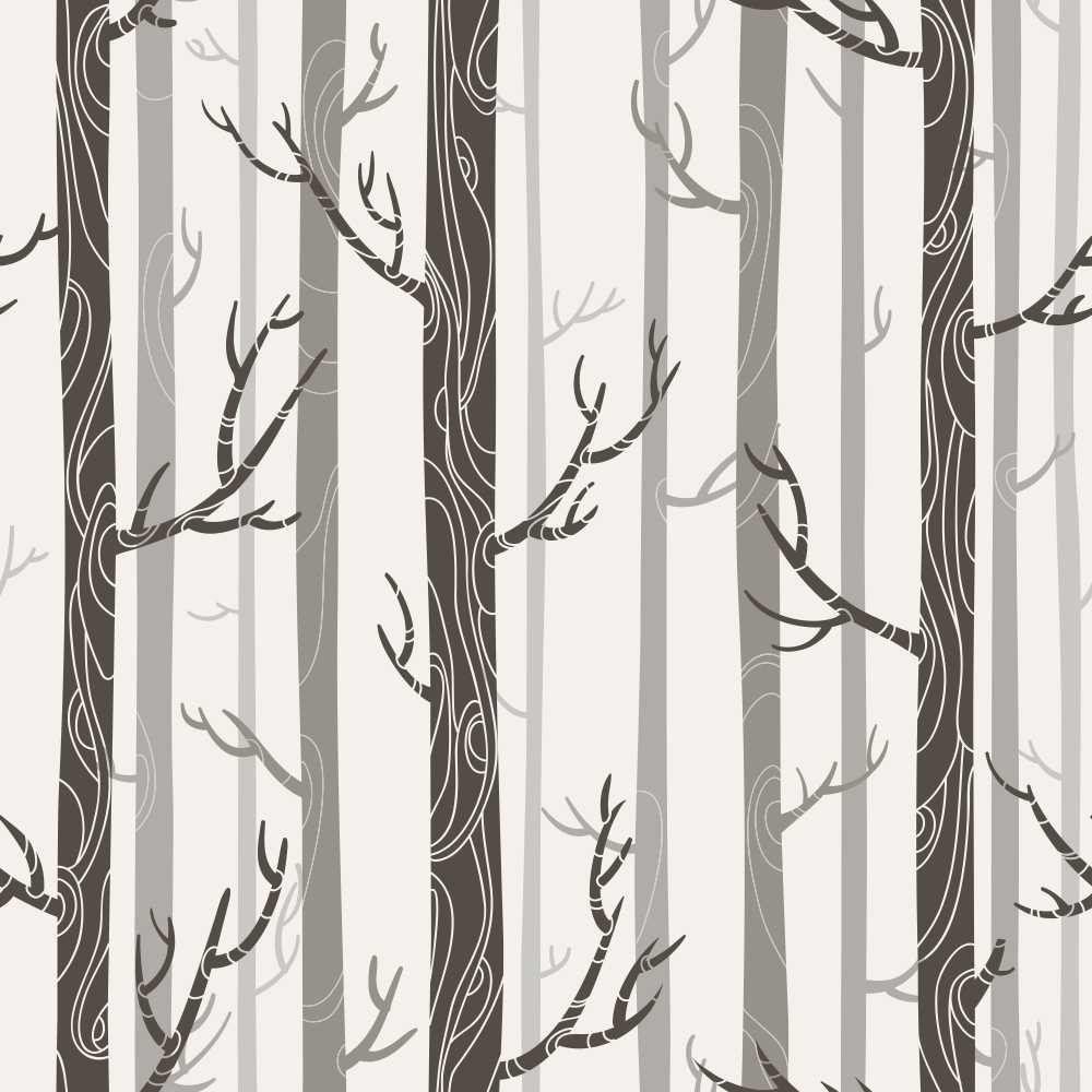 Papel de Parede Adesivo Árvores
