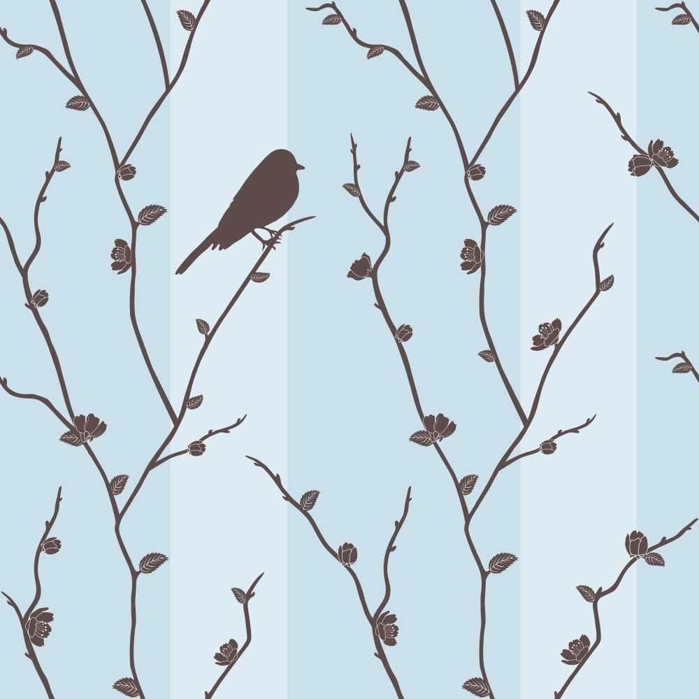 Papel de Parede Adesivo Bird
