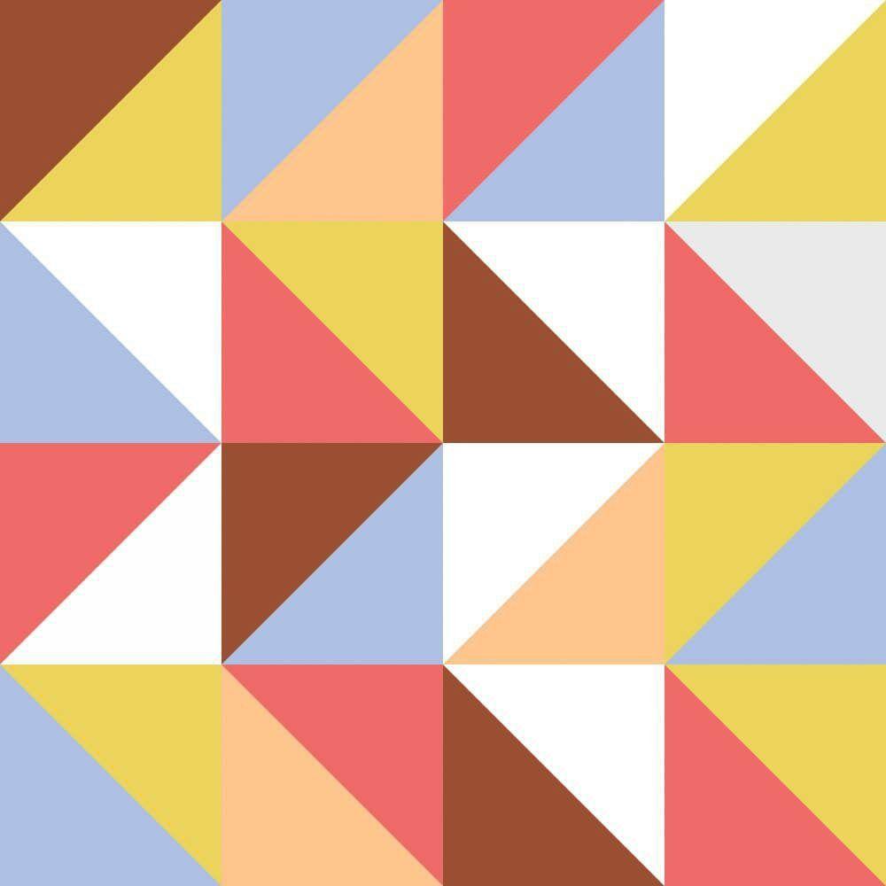 Papel de Parede Adesivo Calorine Color