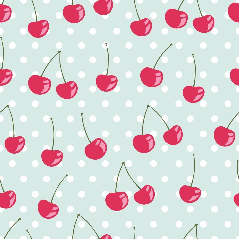 Papel de Parede Adesivo Cherry Pie