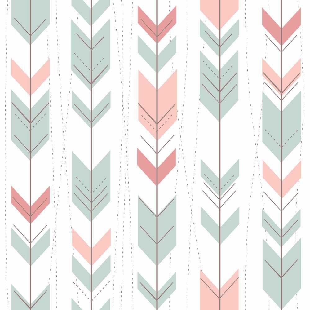 Papel de Parede Adesivo Colored Arrows