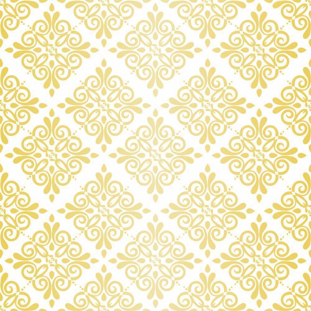 Papel de Parede Adesivo Elegans Gold