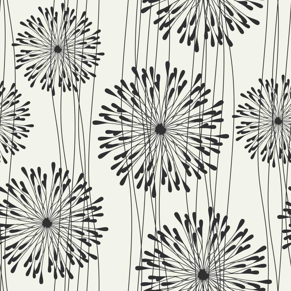 Papel de Parede Adesivo Fancy flower