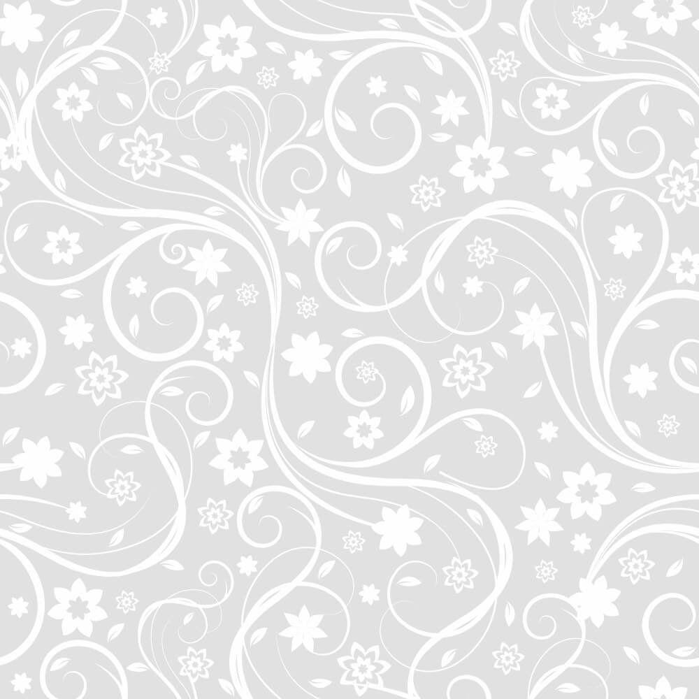Papel de Parede Adesivo Flora Gray