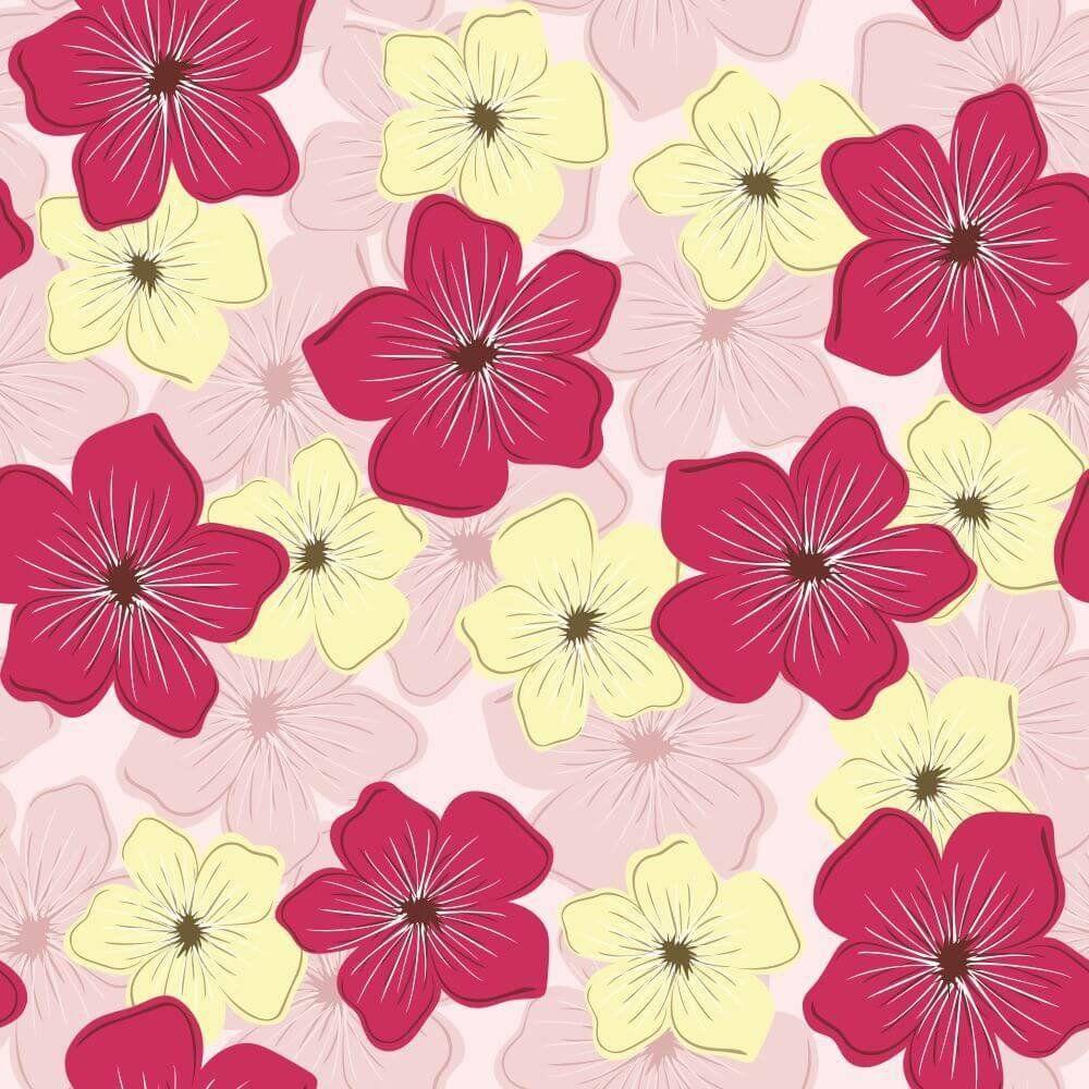 Papel de Parede Adesivo Flores Daisy