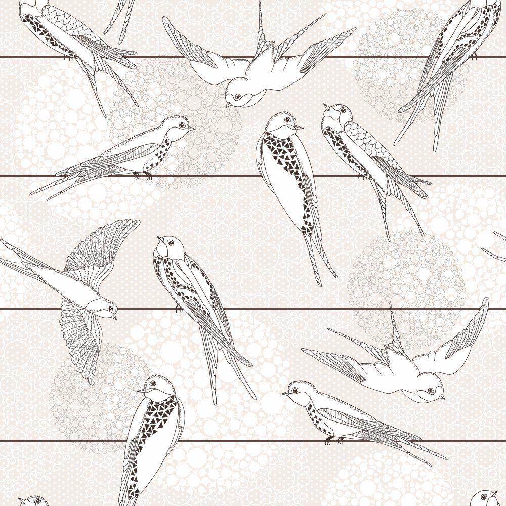 Papel de Parede Adesivo Flying