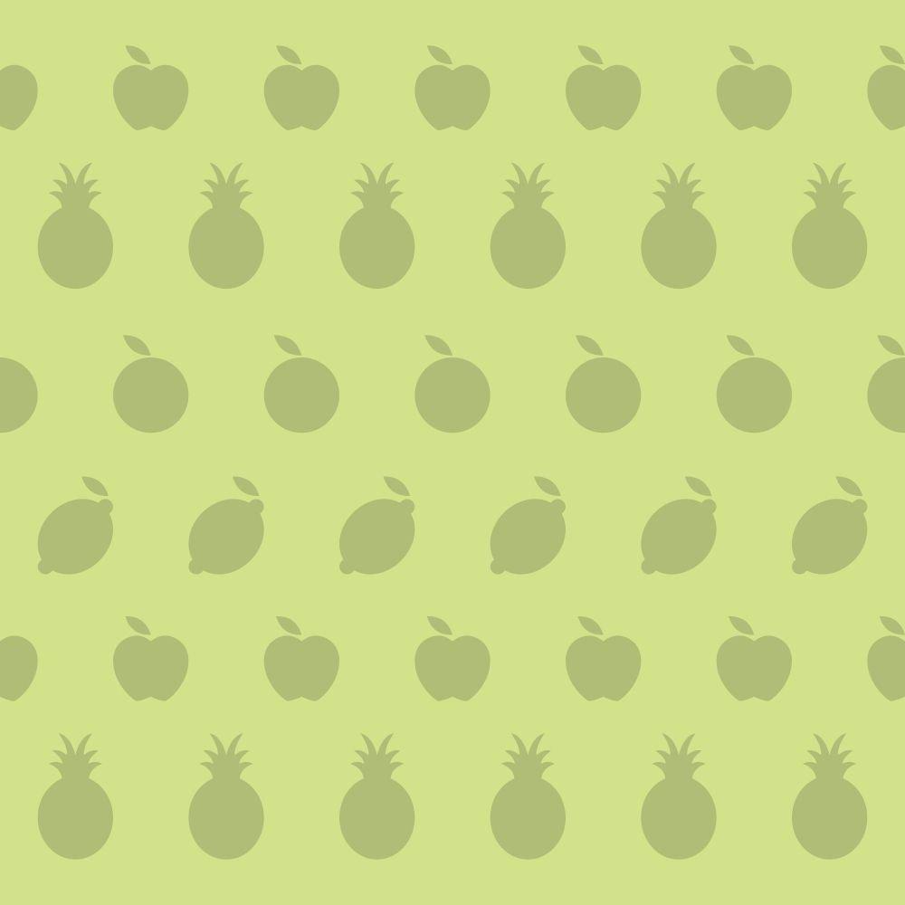 Papel de Parede Adesivo Frutinhas