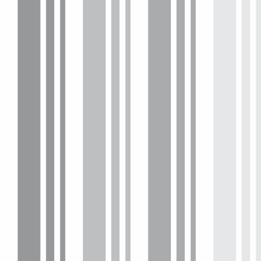 Papel de Parede Adesivo Listras Gray