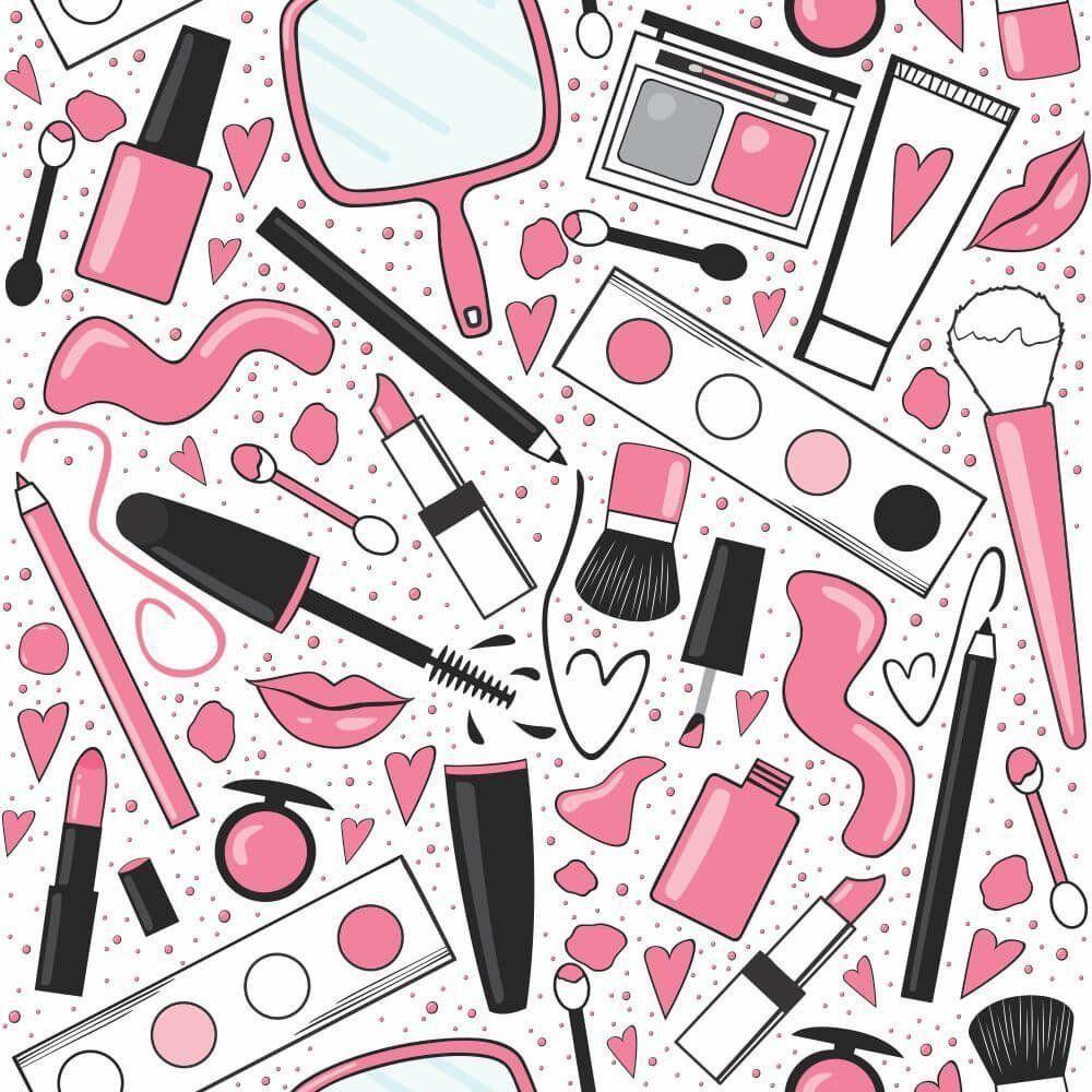 Papel de Parede Adesivo Make Pink