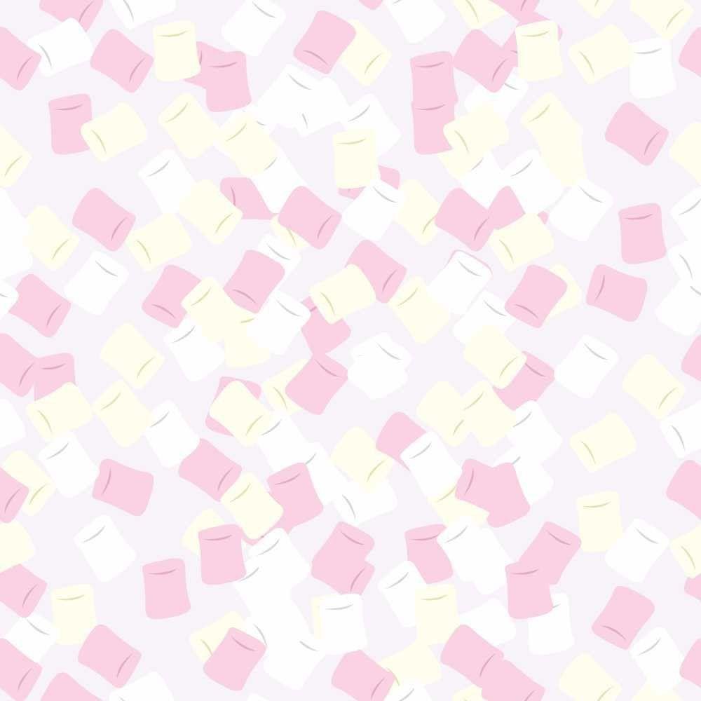 Papel de Parede Adesivo Marshmallow