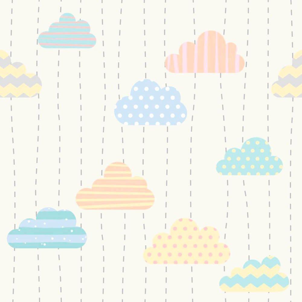 Papel de Parede Adesivo Nuvens Print