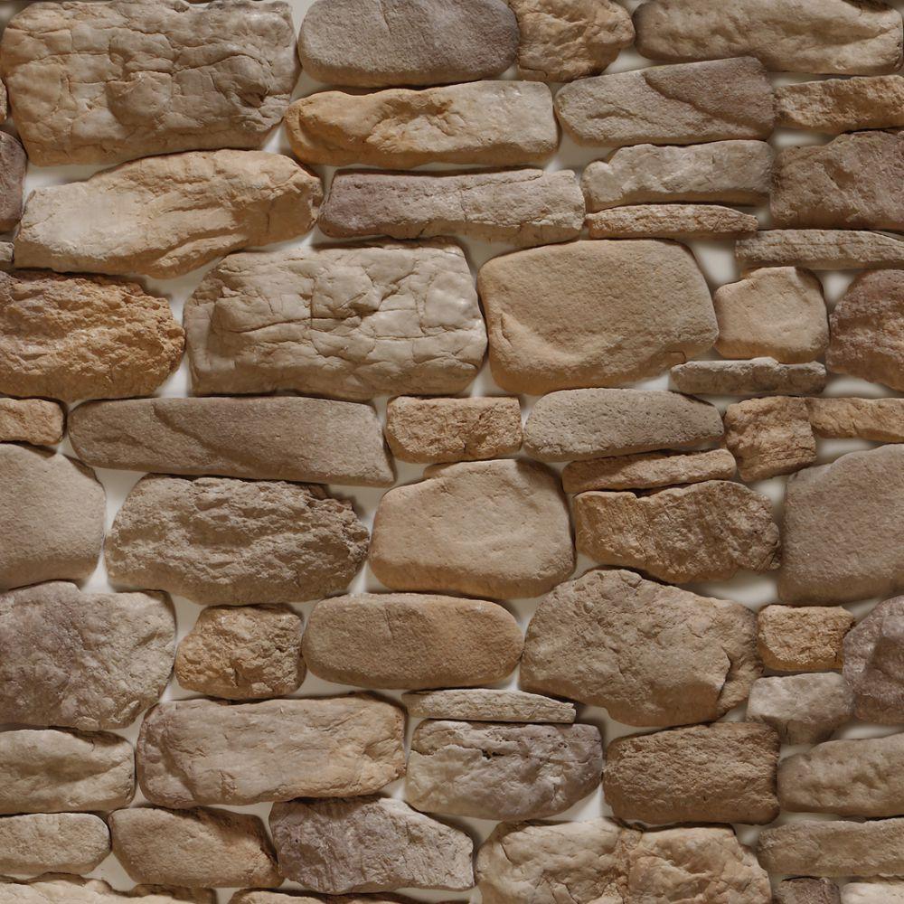 Papel de Parede Adesivo Pedras Areia 8
