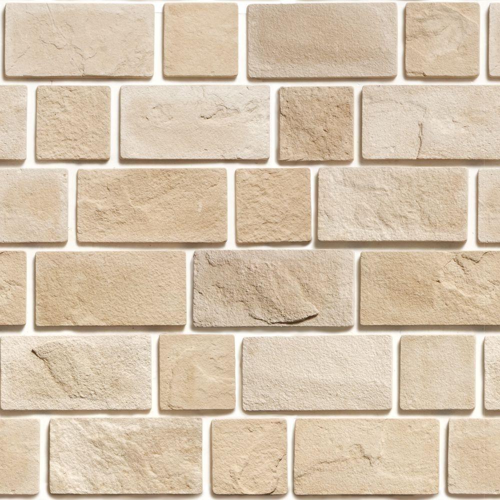 Papel de Parede Adesivo Pedras Fundo Branco 2