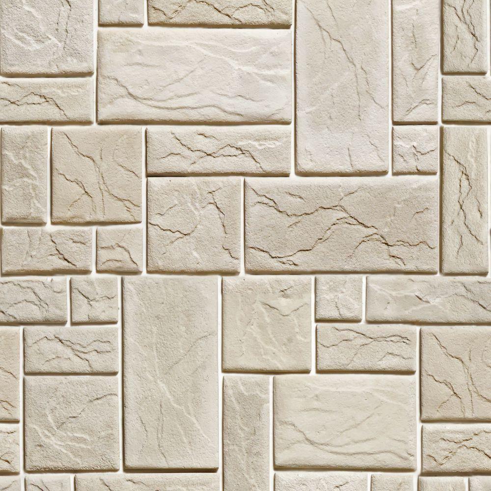 Papel de Parede Adesivo Pedras fundo branco 5