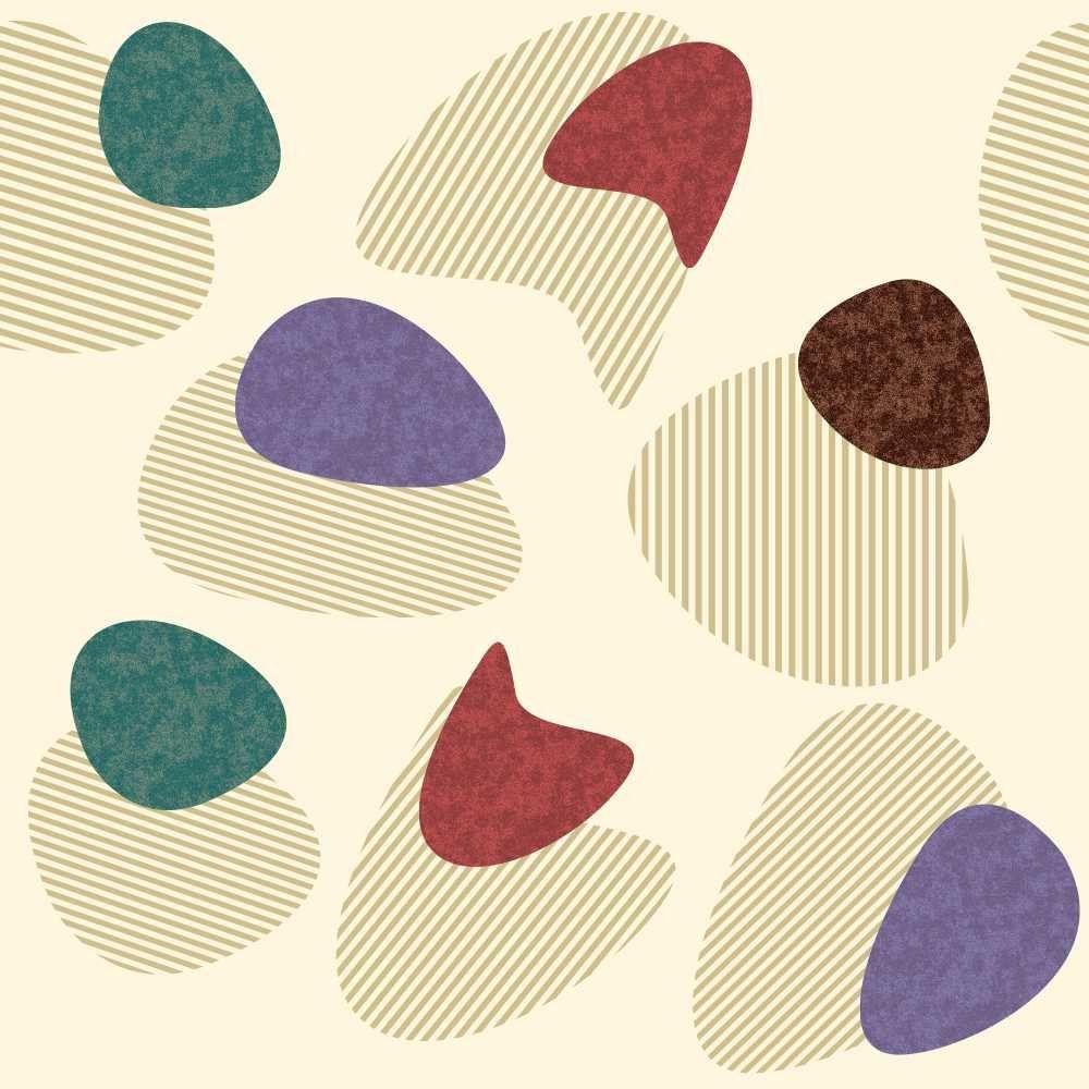 Papel de Parede Adesivo Pedras Riscadas