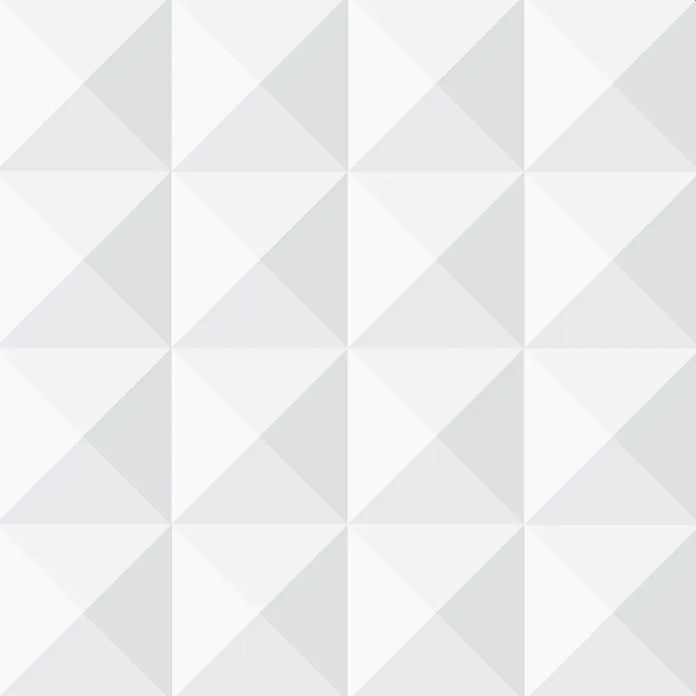 Papel de Parede Adesivo Quadrados Geométricos 3D