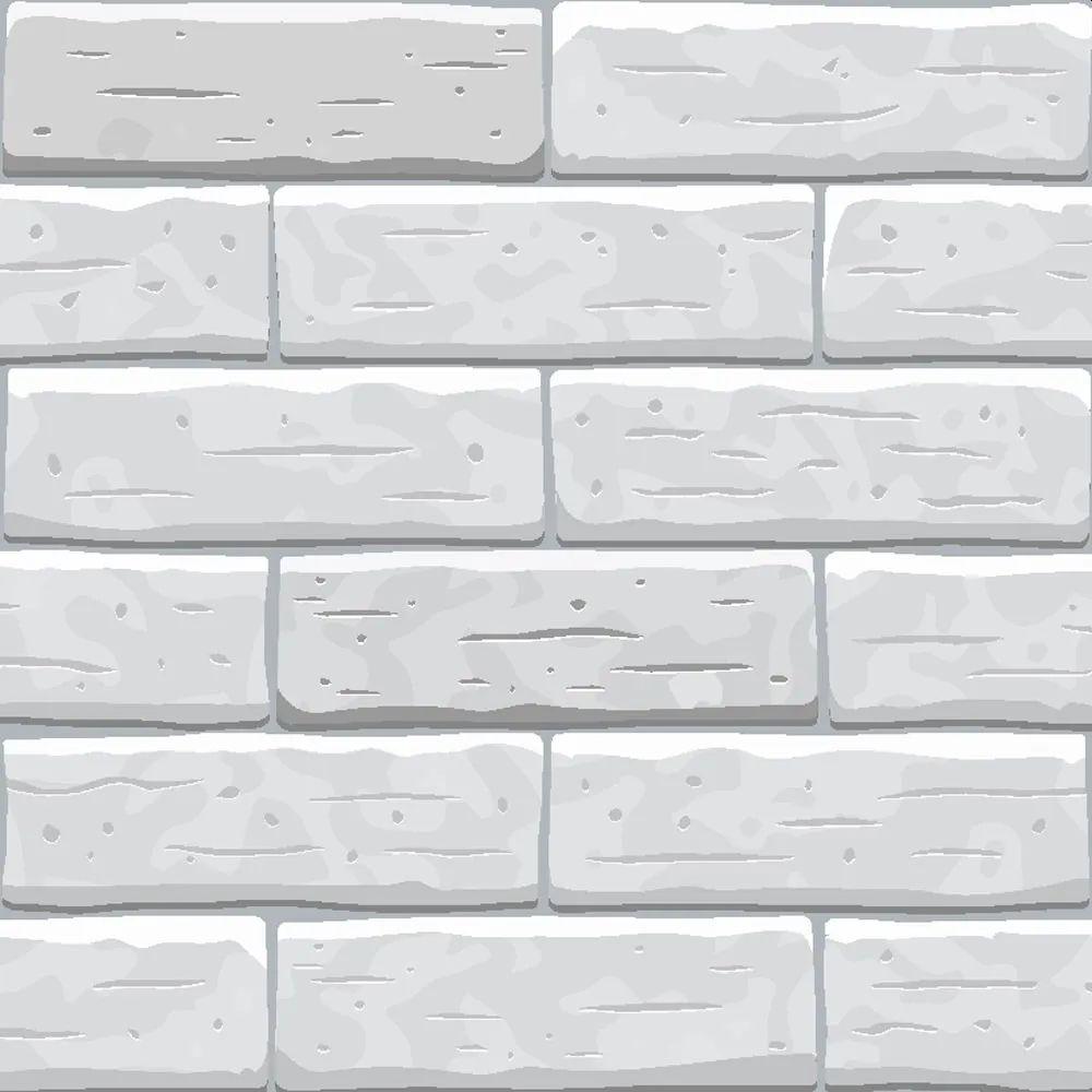 Papel de Parede Adesivo Tijolos Efeito Real 3D