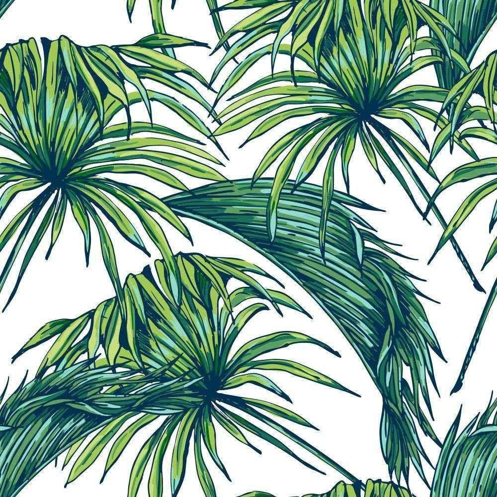 Papel de Parede Adesivo Tropical