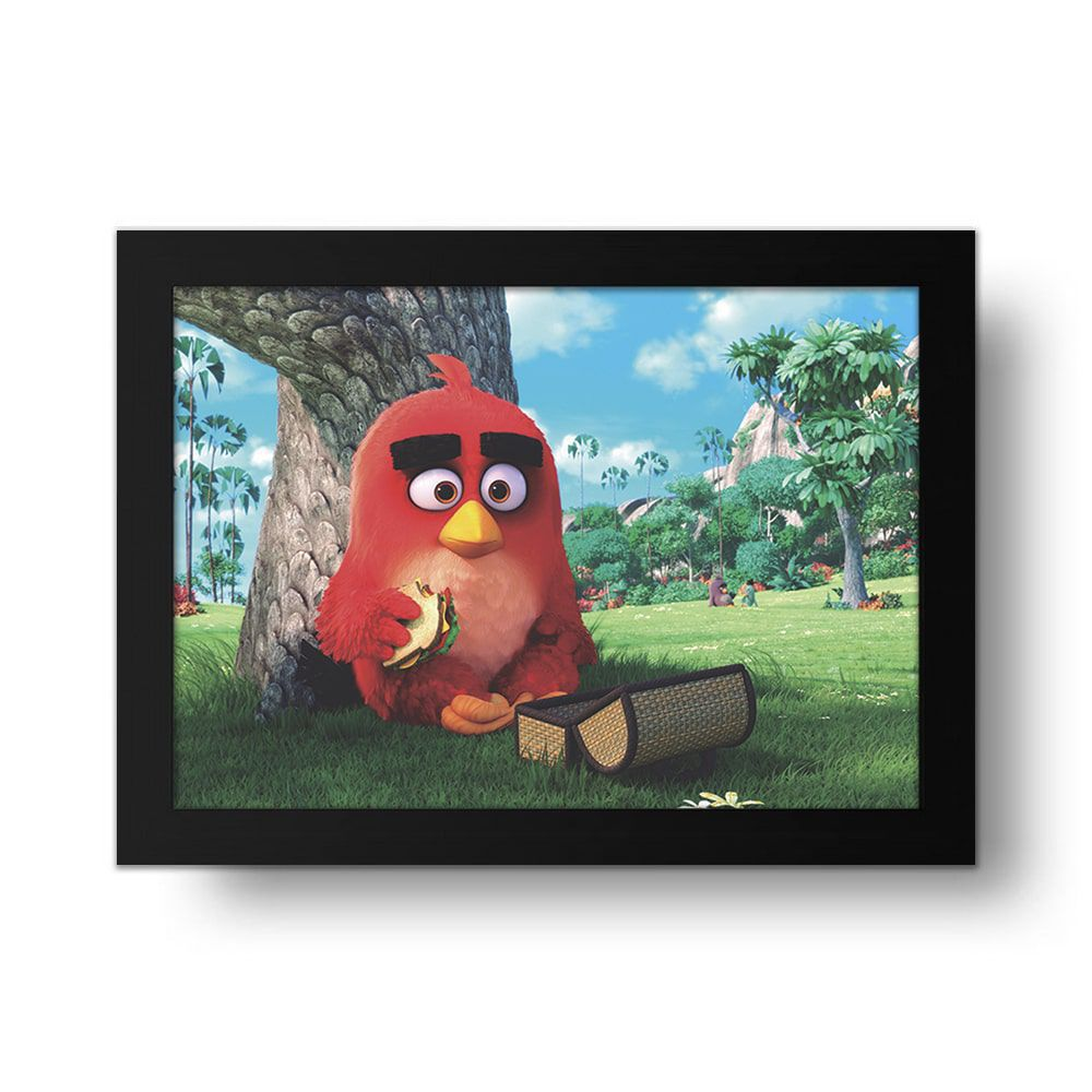 Placa Decorativa Angry Birds