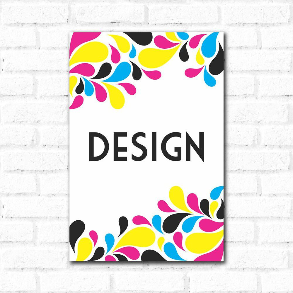 Placa Decorativa Design