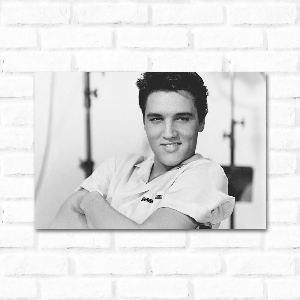 Placa Decorativa Elvis presley 1