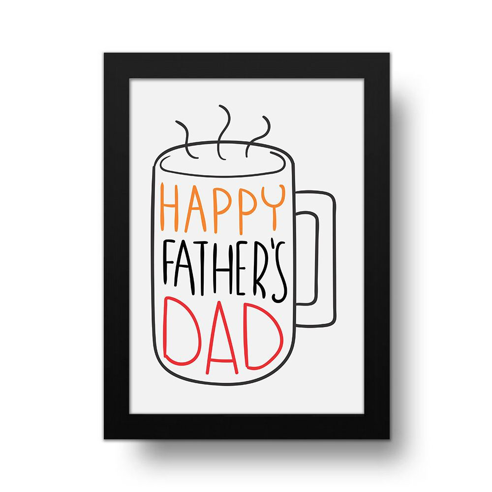 Placa Decorativa Father Coffe