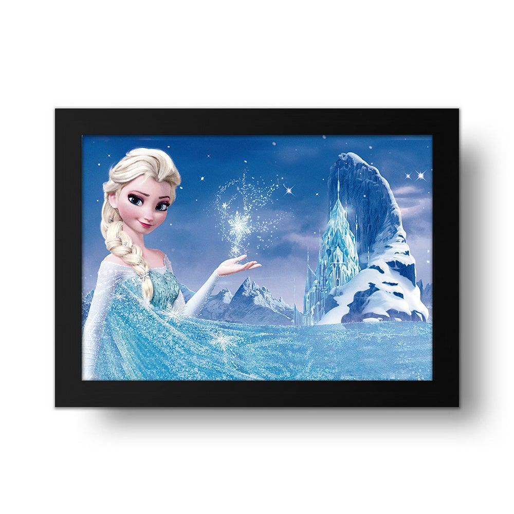Placa Decorativa Frozen Elsa