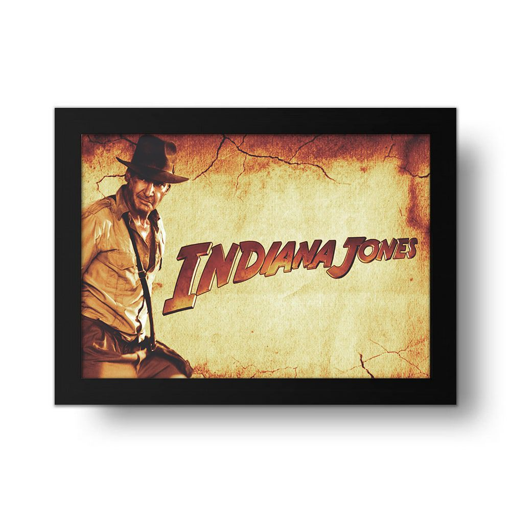 Placa Decorativa Indiana Jones 1