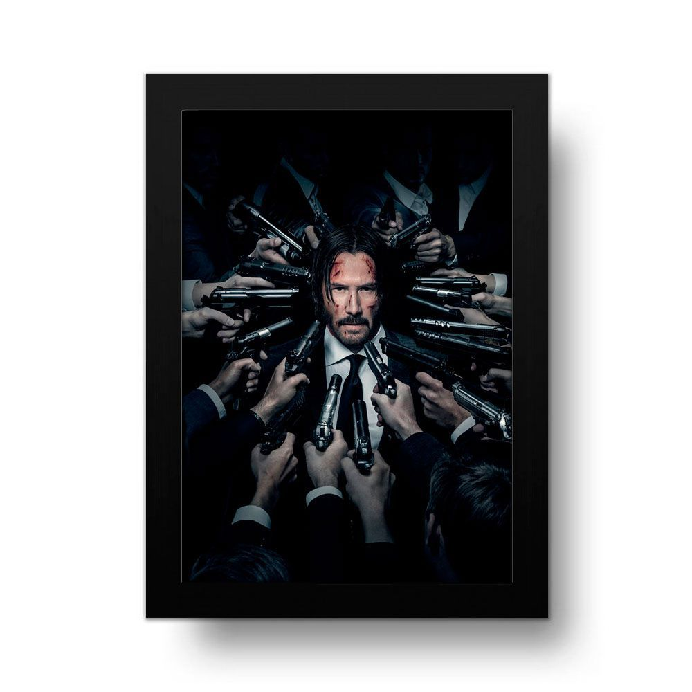 Placa Decorativa John Wick
