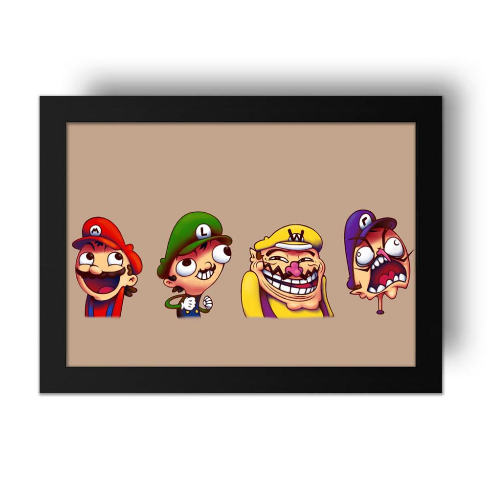 Placa Decorativa Mario 3