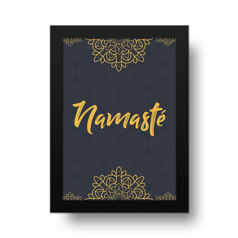 Placa Decorativa Namastê
