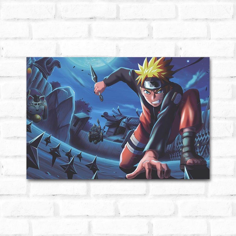 Placa Decorativa Naruto 1