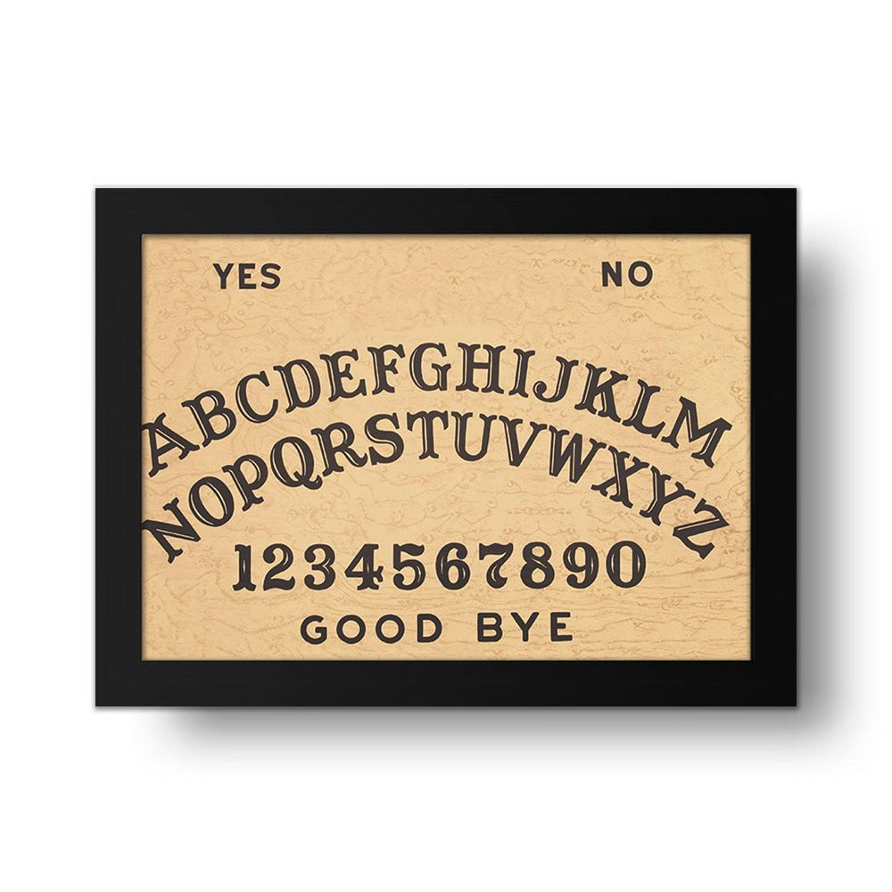 Placa Decorativa Ouija 1
