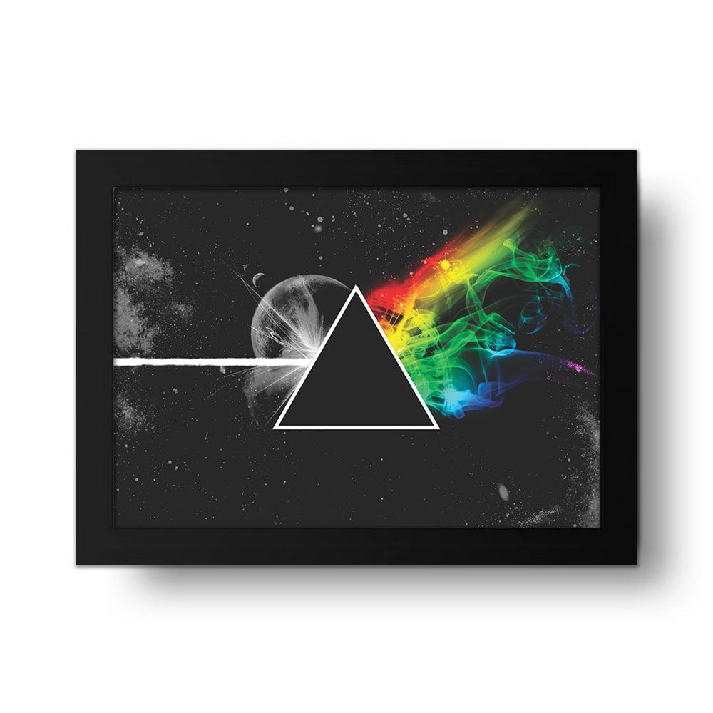 Placa Decorativa Pink Floyd