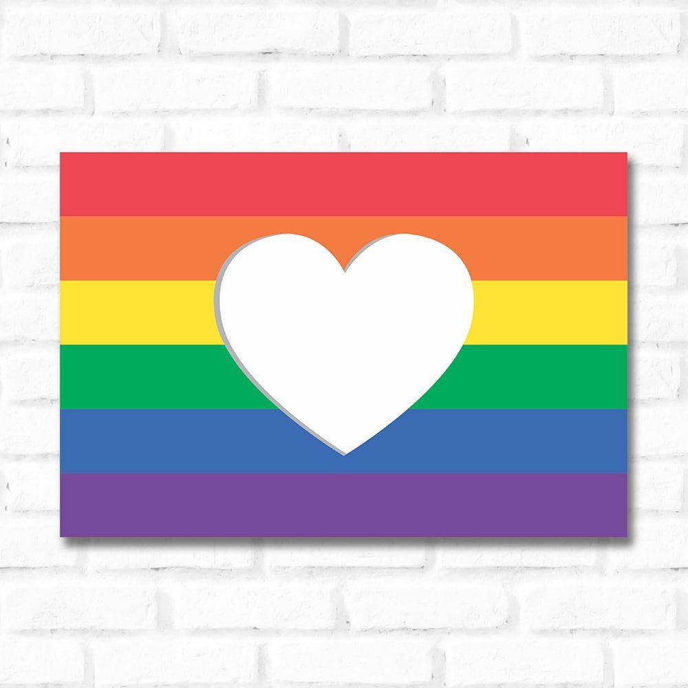 Placa Decorativa Pride