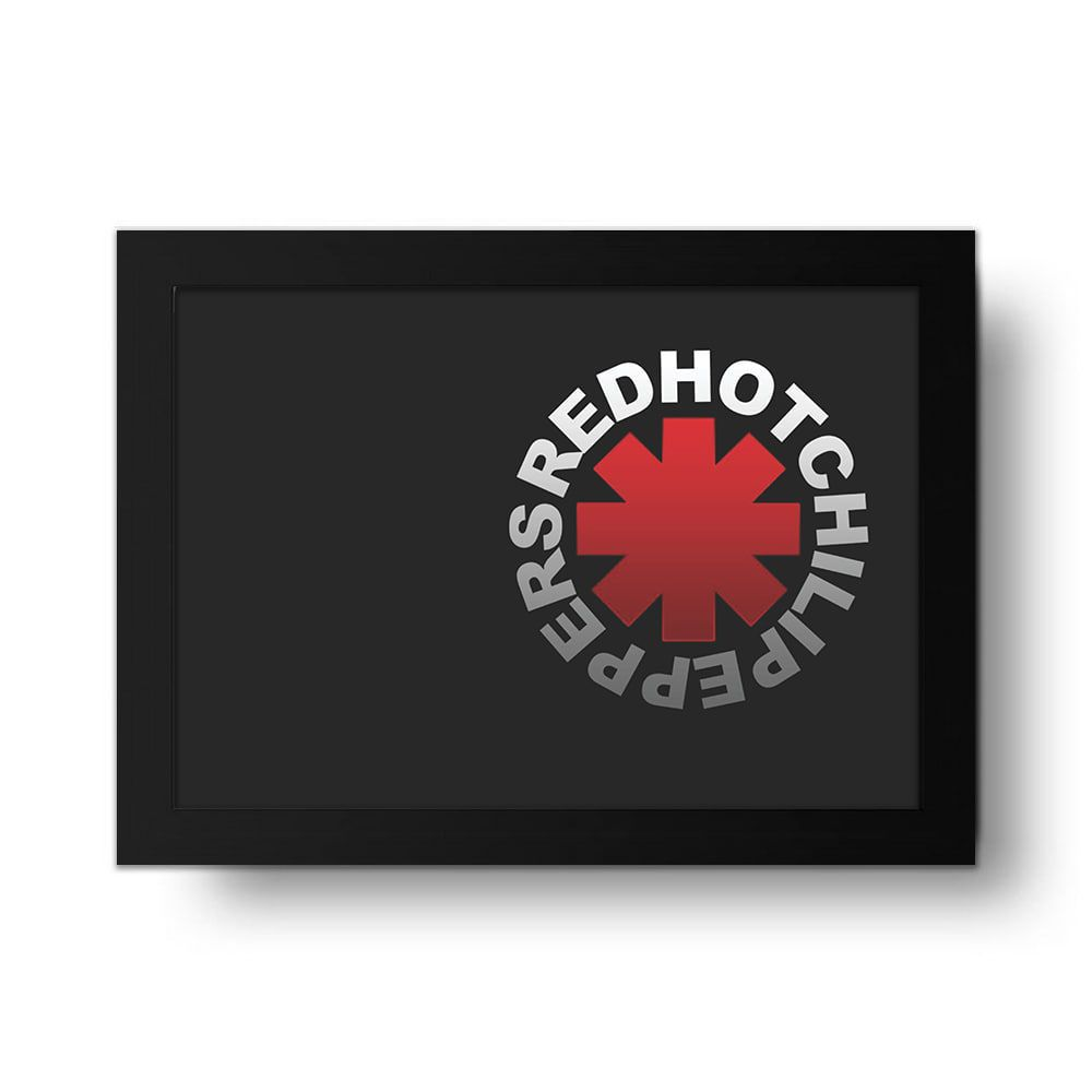 Placa Decorativa Red Hot Chilli Peppers