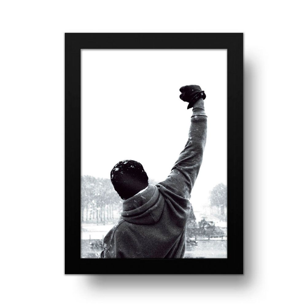 Placa Decorativa Rocky Balboa