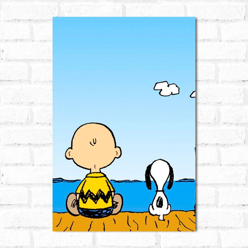 Placa Decorativa Snoopy