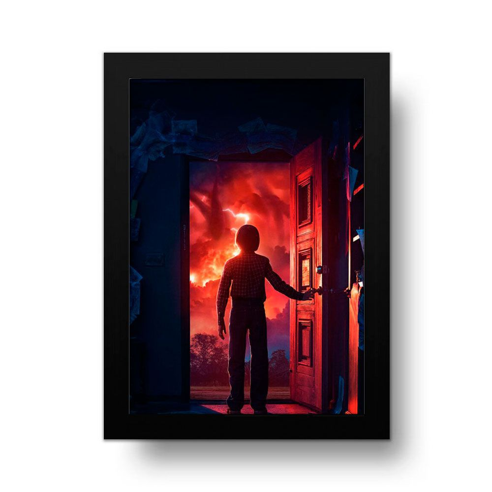 Placa Decorativa Stranger Things 5