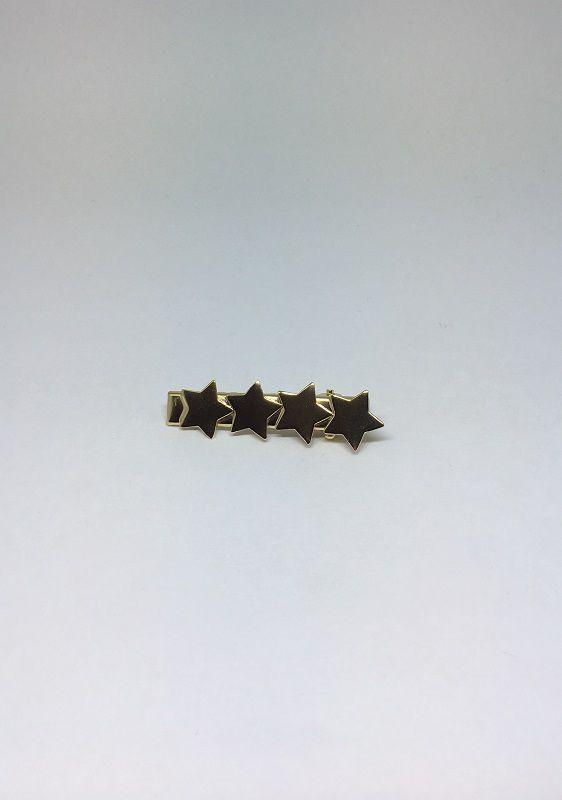 Presilha Folheada Dourada 4 Estrelas | CAF08