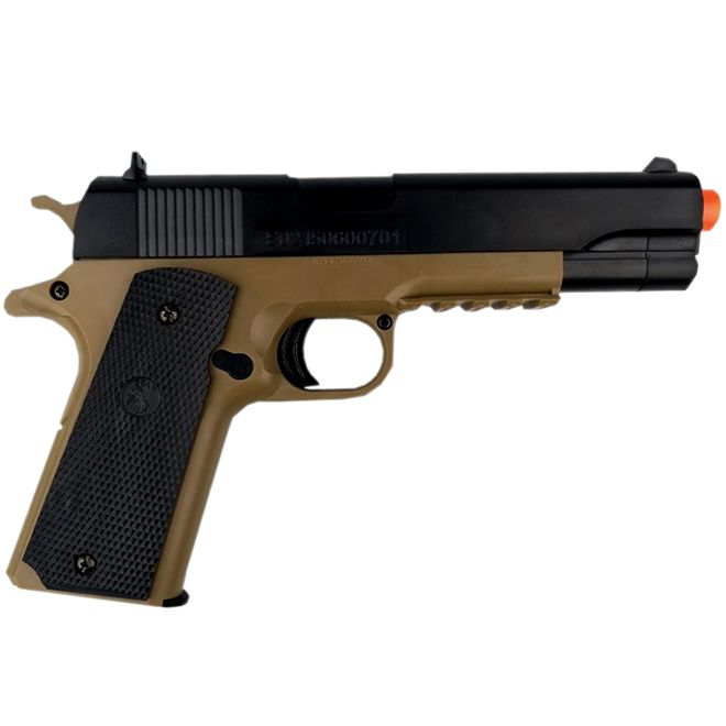 AIRSOFT PIST. COLT M1911 A1 MOLA 6MM