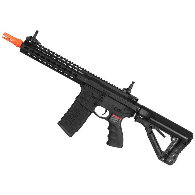 Rifle Elétrico Airsoft G&G CM16 SRL 6mm Lipo Gatilho Eletrônico