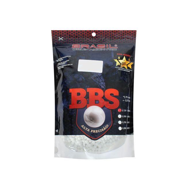 BBs BRASIL EQUIPAMENTOS PACOTE 5000 UNIDADES 0.12G