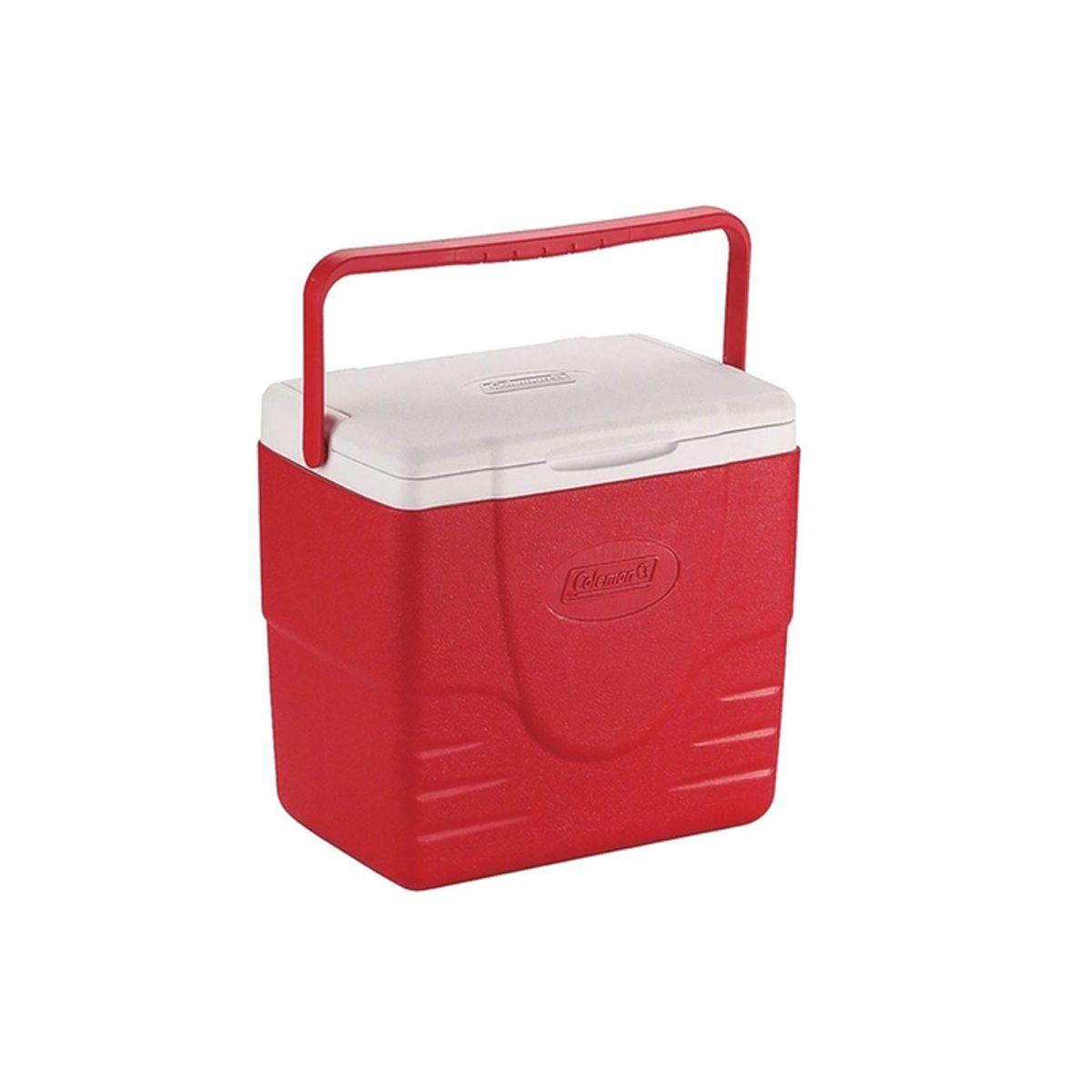 Caixa Térmica Coleman 16qt 15.1 Litros Vermelha