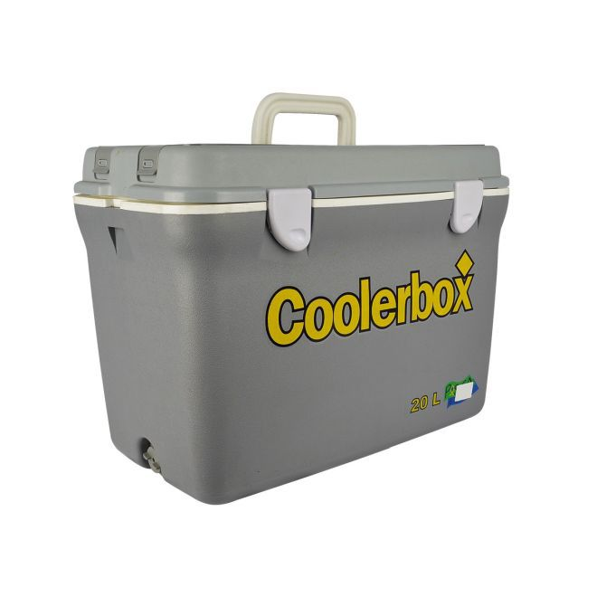 CAIXA TERMICA COOLERBOX 20 LTS OURO