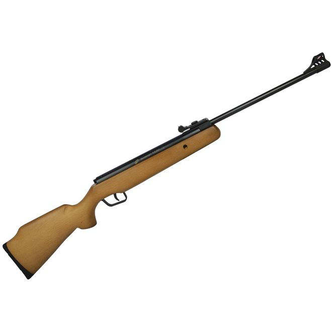 Carabina de Pressão Cbc F22 B12-6 Madeira 5.5mm