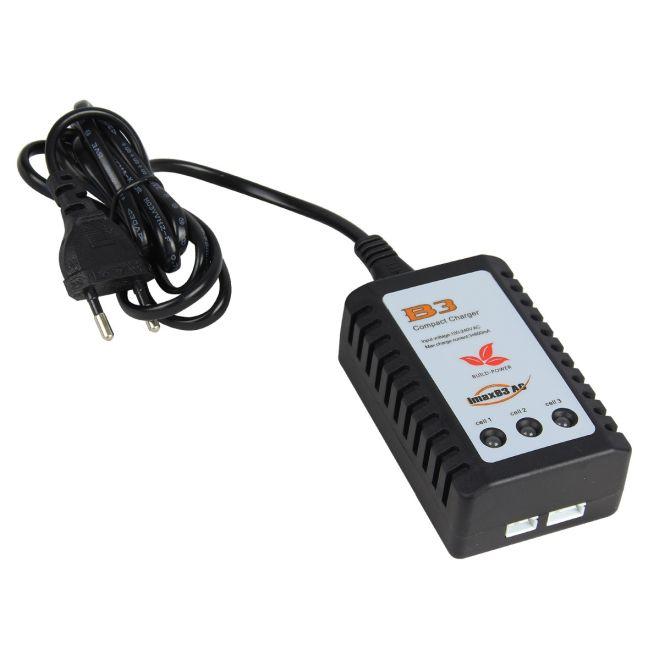 Carregador de Bateria de Lipo 2S/3S Imax B3 - Fonte Embutida 110/220v (OEM)