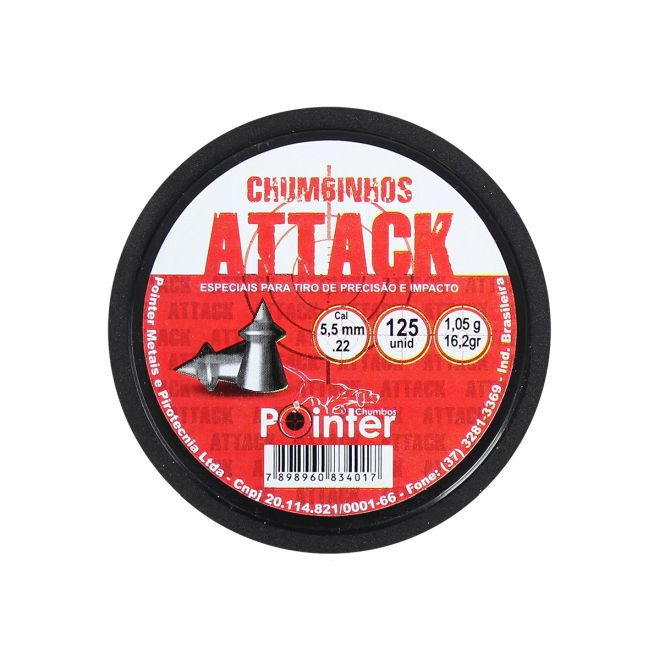 CHUMBINHO ATTACK 5,5 MM