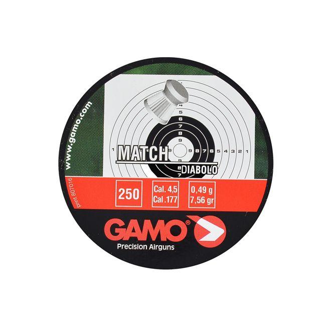 Chumbinho Gamo Match 4.5mm